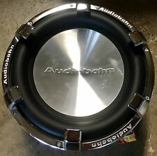 "New Old School Audiobahn Alum10N 10"" Dual 6 Ohm Competition Subwoofer,Rare,Chrom"
