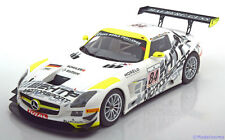 1:18 Minichamps Mercedes SLS AMG GT3 #84, Winner Spa 2013