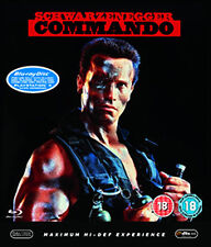 COMMANDO - BLU-RAY - REGION B UK
