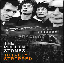 The Rolling Stones - Totally Stripped - New DVD + CD