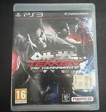 Tekken Tag Tournament 2 Ps3 Perfetta 1a Stampa Edizione Italiana Con Manuale