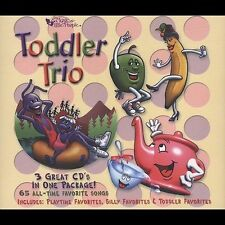 VARIOUS ARTISTS-TODDLER TRIO CD NEW