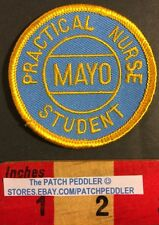 Mayo Clinic Patch Rochester MN Practical Nurse Student Medical Field 57DD