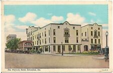 The Waverly Hotel in Columbus GA Postcard 1941