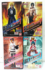 BANDAI SUPER ONE PIECE STYLING FLAME OF THE REVOLUTION SABO ACE KOALA SUGAR