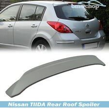 For Nissan Tiida 1st Versa C11 Rear Roof/Trunk Spoiler Wing 5DR Hatchback