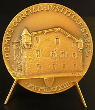 Médaille Papale Pape Pope Papa 1983 Domus Concilii Justitiae Sedes J P II medal