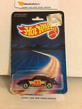 #15 P-911 Turbo Porsche 7648 * BLACK * 1986 Hong Kong * Vintage Hot Wheels * E31