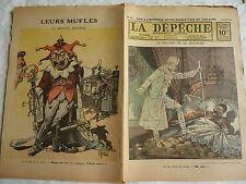 Guerre 14-18 : rare supplément illustré couleur de la DEPECHE de TOULOUSE N°97