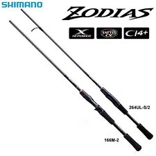 Shimano Zodias 264UL-S/2 Spinning Rod For Bass Game Fishing