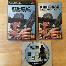 Red Dead Revolver Sony Playstation 2 PS2 System Complete Game