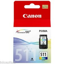 1 Canon CL-511, CL511 originale OEM Colore Cartuccia Inkjet Per MP490
