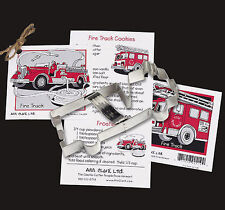 FIRETRUCK COOKIE CUTTER~~ BY ANN CLARK