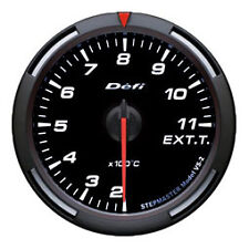 Defi Racer Gauge 60mm Exhaust Temperature Meter DF11806 White