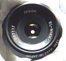 El-Nikkor 50mm f4 enlarger lens Nikon