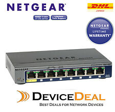 NETGEAR GS108T Prosafe 8-Port Gigabit Smart Switch
