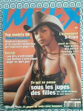 MAX French 09/1998 Naomi Campbell Tiger Woods Courtney Love Lauryn Hill
