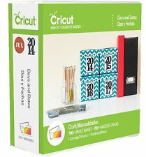 CRICUT *DAYS AND DATES* CARTRIDGE *NEW* ADVENT, CALENDAR, PLANNER, CHART, LABELS