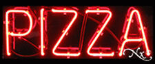 "BRAND NEW ""PIZZA"" 24x10 REAL NEON SIGN W/CUSTOM OPTIONS 12138"