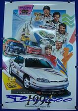 1994 Inaugural Brickyard 400 Chevrolet Monte Carlo Pace Car Collector Poster