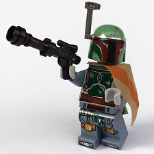 STAR WARS lego BOBA FETT bounty hunter GENUINE minifig NEW 75137 slave 1 pilot