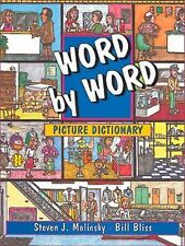 Word by Word Picture Dictionary-ExLibrary