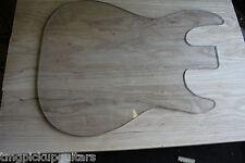 Body Blank Swamp Ash gefügt ca 500 x 380 cm und  leicht 3,9 Kg