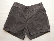 VINTAGE SHORTS 80's Weeds CORDUROY Cords SURF Skate Board GRAY 34