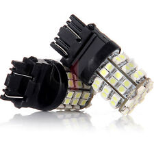 2X Xenon White 60SMD 2835 Chip 4057 3157 LED Bulbs Backup Reverse Lights 6000K