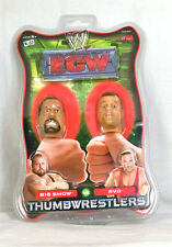 WWE / Thumbwrestlers / 2 sets / Booker T / Batista / Big Show / RVD / On Cards