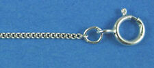"""5 STERLING SILVER STRONG HEAVY WEIGHT TRACE NECKLACE CHAINS, 20"""", 51 CM"""