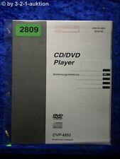 Sony Bedienungsanleitung DVP M50 CD/DVD Player (#2809)