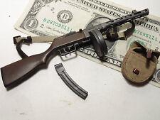 Miniature 1/6 scale WW2 Russian PPSH sub machine gun