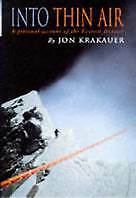 Into Thin Air by Jon Krakauer (Paperback, 1991) Like new, free postage+ tracking
