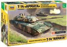 "Zvezda 1:35 T-14 ""Armata"" Russian Main Battle Tank Plastic Model Kit - 3670"