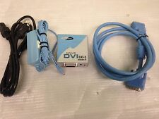 Gefen DVI Cat-5 Extender Receiver Only WITH DVI cable and charger