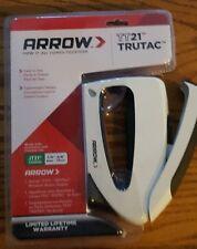 Arrow Fastener TT21 TruTac Stapler New