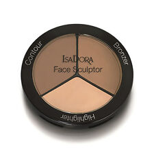 IsaDora Face Sculptor Palette 03 Nude - Bronzer - Highlighter - Contour - New