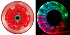 LED Scooter Wheels Bearings Razor Scooters Accessories Light Up Red Sports New
