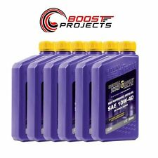 Royal Purple 10W40 Max-Cycle Synthetic Motorcycle Engine Oil 6-Quarts 01315