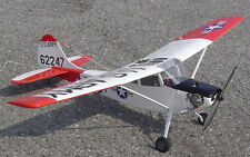 Giant 27% Scale CESSNA L-19 BIRD DOG scratch build R/c Plane Plans 116.5 in. WS