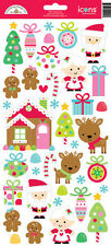 Doodlebug Design CHRISTMAS SUGARPLUMS Icon Stickers Scrapbooking Paper Crafts