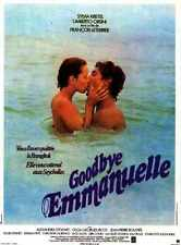 Goodbye EmManuelle Poster 02 Metal Sign A4 12x8 Aluminium