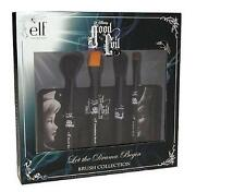ELF DISNEY GOOD VS EVIL COSMETIC BRUSH SET LET THE DRAMA BEGIN WITH BAG NEW