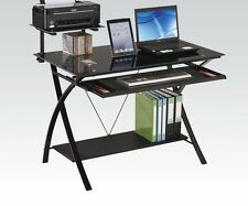 Acme Furniture 92078 Erma Computer Desk, Black