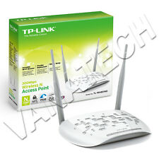 ACCESS POINT WIRELESS TP-LINK TL-WA801ND 300MBPS WIFI REPEATER CLIENT BRIDGE OK