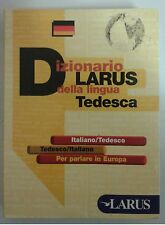 Vocabolario Dizionario Tedesco LARUS Compatto e Tascabile Nuovo SCONTATO