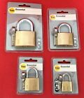Yale Brass Padlock with 3 keys 30mm / 40mm / 50mm / 60mm