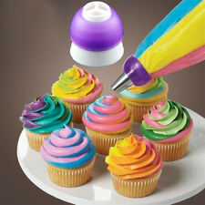 3 Color Icing Piping Bag Nozzle Converter Cream Coupler Cake Decor Baking Tool