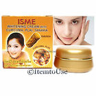 ISME WHITENING FACE CREAM UV PROTECTION LIGHTENING CURCUMA PLAI TANAKA HERBAL